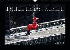 Industrie-Kunst 2019 (Wandkalender 2019 DIN A3 quer) von Hebgen,  Peter