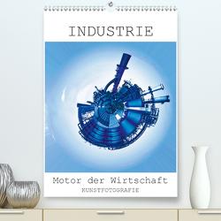 INDUSTRIE – Motor der Wirtschaft (Premium, hochwertiger DIN A2 Wandkalender 2021, Kunstdruck in Hochglanz) von Ruffinengo,  Rolando