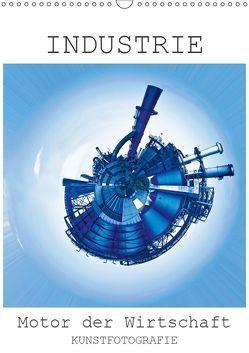 INDUSTRIE – Motor der Wirtschaft (Wandkalender 2019 DIN A3 hoch) von Ruffinengo,  Rolando