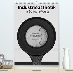 Industrieästhetik in Schwarz-Weiss (Premium, hochwertiger DIN A2 Wandkalender 2021, Kunstdruck in Hochglanz) von Bücker,  Michael, Grasse,  Dirk, Hegerfeld-Reckert,  Anneli, Uppena,  Leon