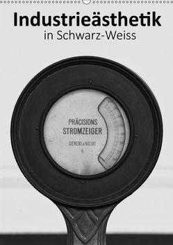 Industrieästhetik in Schwarz-Weiss (Wandkalender 2018 DIN A2 hoch) von Bücker,  Michael, Grasse,  Dirk, Hegerfeld-Reckert,  Anneli, Uppena,  Leon