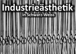 Industrieästhetik in Schwarz-Weiss (Wandkalender 2019 DIN A2 quer)