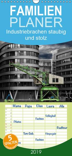 Industriebrachen staubig und stolz – Familienplaner hoch (Wandkalender 2019 , 21 cm x 45 cm, hoch) von Adams foto-you.de,  Heribert