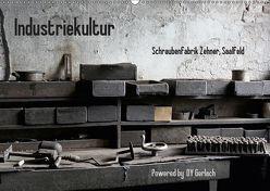 Industriekultur, Schraubenfabrik Zehner, Saalfeld (Wandkalender 2019 DIN A2 quer) von Gerlach,  DY