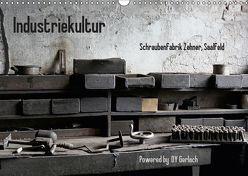 Industriekultur, Schraubenfabrik Zehner, Saalfeld (Wandkalender 2019 DIN A3 quer) von Gerlach,  DY