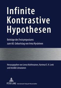 Infinite Kontrastive Hypothesen von Kolehmainen,  Leena, Lenk,  Hartmut E. H., Liimatainen,  Annikki