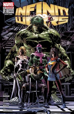 Infinity Wars von Bagley,  Mark, Deodato Jr.,  Mike, Duggan,  Gerry, MacDonald,  Andy, Rösch,  Alexander