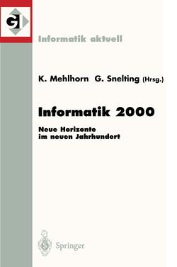 Informatik 2000 von Mehlhorn,  Kurt, Snelting,  Gregor