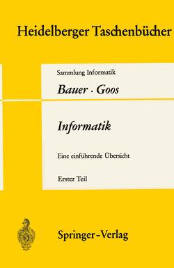 Informatik von Bauer,  F. L., Goos,  G.
