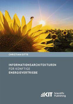 Informationsarchitekturen für künftige Energievertriebe von Gitte,  Christian