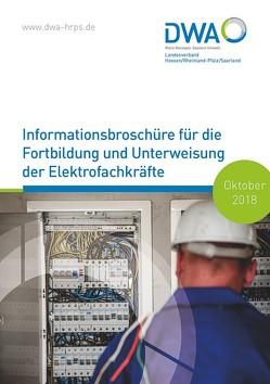 Informationsbroschüre für die Fortbildung und Unterweisung der Elektrofachkräfte von Hörner,  Michael