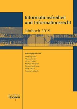 Informationsfreiheit und Informationsrecht von Blatt,  Henning, Dix,  Alexander, Kelber,  Ulrich, Kloepfer,  Michael, Kugelmann,  Dieter, Schaar,  Peter, Schoch,  Friedrich