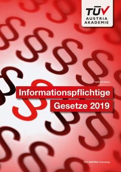 Informationspflichtige Gesetze 2019 von Matzik,  Hellfried
