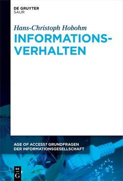 Informationsverhalten von Hobohm,  Hans-Christoph