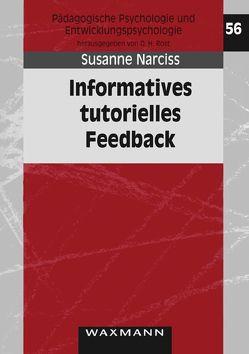 Informatives tutorielles Feedback von Narciss,  Susanne