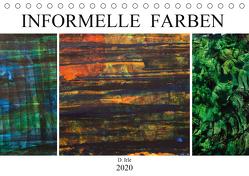 Informelle Farben (Tischkalender 2020 DIN A5 quer) von Irle,  D.