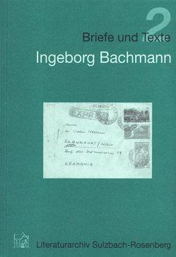 Ingeborg Bachmann von Preuss,  Patricia