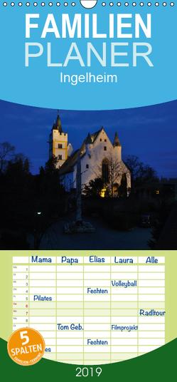 Ingelheim – Stadt des Rotweins und der Kaiserpfalz – Teil I – Familienplaner hoch (Wandkalender 2019 , 21 cm x 45 cm, hoch) von Hess,  Erhard