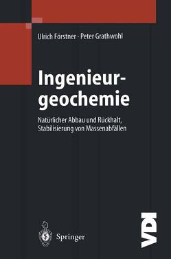 Ingenieurgeochemie von Förstner,  Ulrich, Gerth,  Joachim, Grathwohl,  Peter, Hirschmann,  Günther, Jacobs,  Patrick, Paul,  Michael