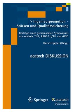 Ingenieurpromotion – Stärken und Qualitätssicherung von Hippler,  Horst