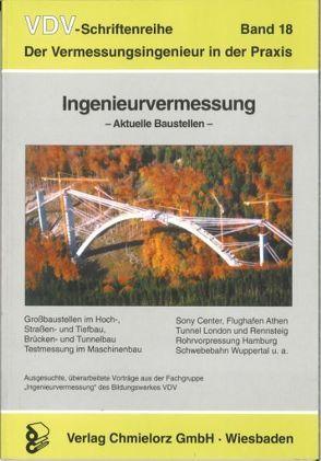 Ingenieurvermessung – Aktuelle Baustellen von Klemp,  Dieter