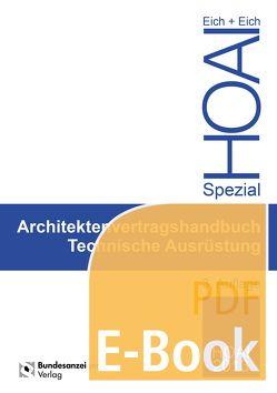 Ingenieurvertragshandbuch Technische Ausrüstung (E-Book) von Eich,  Anke, Eich,  Rainer