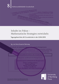 Inhalte im Fokus – Mathematische Strategien entwickeln von Steinweg,  Anna Susanne