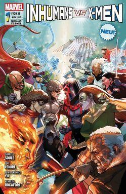 Inhumans vs. X-Men von Lemire,  Jeff, Petz,  Jürgen, Rocafort,  Kenneth, Soule,  Charles, Yu,  Leinil Francis