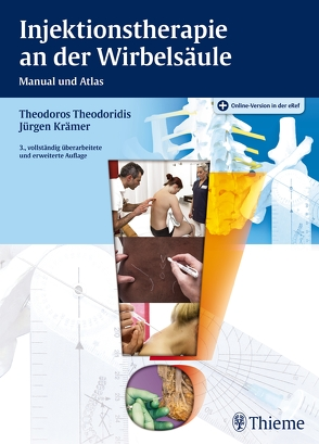 Injektionstherapie an der Wirbelsäule von Krämer,  Jürgen, Theodoridis,  Theodoros