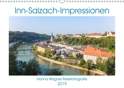Inn-Salzach-Impressionen (Wandkalender 2019 DIN A3 quer) von Wagner,  Hanna
