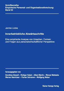 Innerbetriebliche Abwärtsschritte von Lücke,  Janine