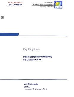 Innere Lastpunktverschiebung bei Dieselmotoren von Neugärtner,  Jörg