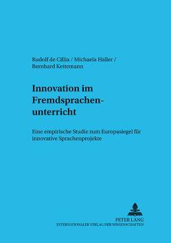Innovation im Fremdsprachenunterricht von de Cillia,  Rudolf, Haller,  Michaela, Kettemann,  Bernhard
