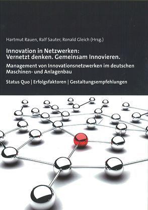 Innovation in Netzwerken: Vernetzt denken. Gemeinsam Innovieren. von Gleich,  Ronald, Rauen,  Hartmut, Sauter,  Ralf
