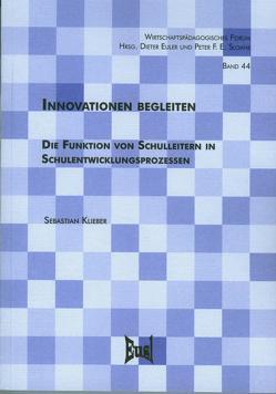 Innovationen begleiten von Klieber,  Sebastian