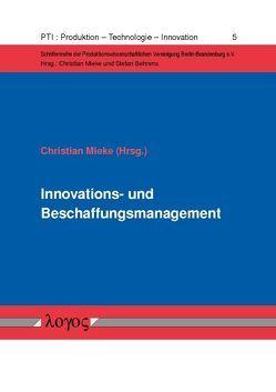 Innovations- und Beschaffungsmanagement von Mieke,  Christian