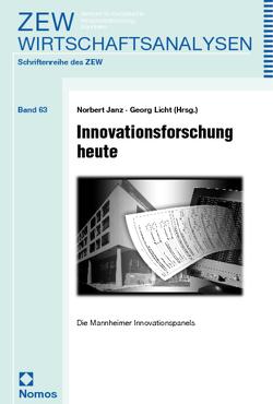 Innovationsforschung heute von Janz,  Norbert, Licht,  Georg