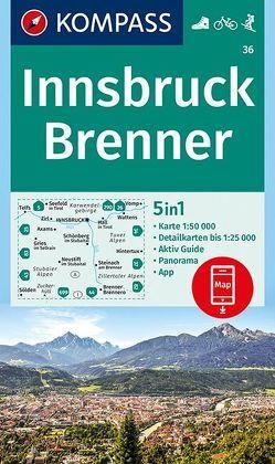 Innsbruck, Brenner von KOMPASS-Karten GmbH