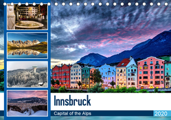 Innsbruck – Capital of the AlpsAT-Version (Tischkalender 2020 DIN A5 quer) von Jovanovic,  Danijel