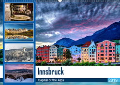 Innsbruck – Capital of the AlpsAT-Version (Wandkalender 2019 DIN A2 quer) von Jovanovic,  Danijel