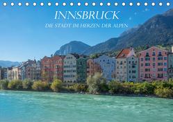 Innsbruck – Die Stadt im Herzen der Alpen (Tischkalender 2019 DIN A5 quer) von und Philipp Kellmann,  Stefanie