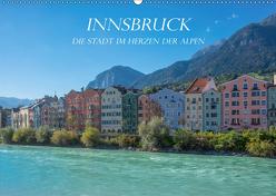 Innsbruck – Die Stadt im Herzen der Alpen (Wandkalender 2019 DIN A2 quer) von und Philipp Kellmann,  Stefanie