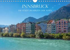 Innsbruck – Die Stadt im Herzen der Alpen (Wandkalender 2019 DIN A4 quer) von und Philipp Kellmann,  Stefanie