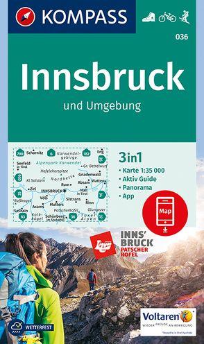 Innsbruck und Umgebung von KOMPASS-Karten GmbH