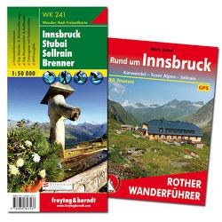 Innsbruck Wanderungen-Set, Wanderführer + Wanderkarte 1:50.000, in praktischer Umhängetasche von Freytag-Berndt und Artaria KG