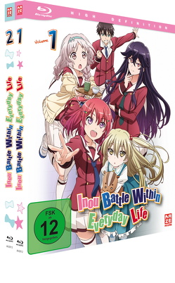 Inou Battle Within Everyday Life – Gesamtausgabe – Blu-ray Box (2 Blu-rays) von Takahashi,  Masanori