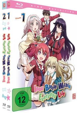 Inou Battle Within Everyday Life – Gesamtausgabe – Blu-ray Box (2 Blu-rays) von Takahashi,  Masanori