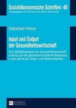 Input und Output der Gesundheitswirtschaft von Hesse,  Sebastian
