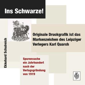 Ins Schwarze! von Schulreich,  Ekkehard