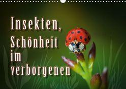 Insekten, Schönheit im verborgenen (Wandkalender 2019 DIN A3 quer) von Gödecke,  Dieter
